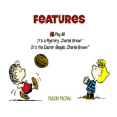 Peanuts 1970's Collection Volume 1 - Disc Two Features Screenshot