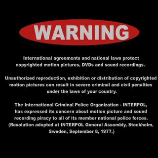 English international FBI Warning