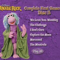 Fraggle Rock Disc 3 menu