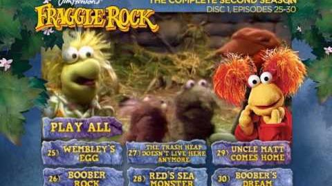 Fraggle Rock - Season 2 Disc 1 Main Menu (2013)