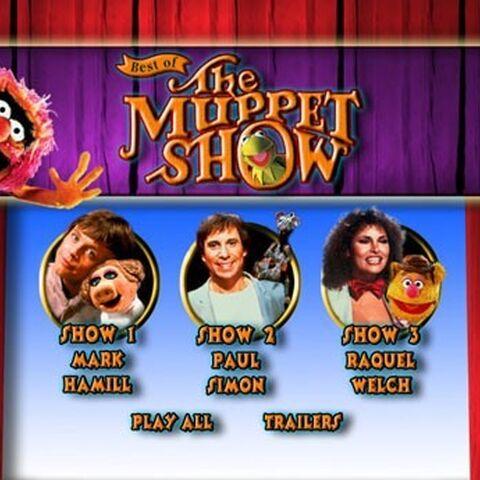 Best of The Muppet Show: Volume 2 Main Menu Screenshot