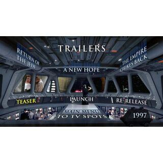 Star Wars Trilogy - Trailers Menu Screenshot