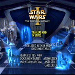 Star Wars: The Phantom Menace - Disc Two Menu Screenshot