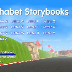 Alphabet Storybooks Menu #2