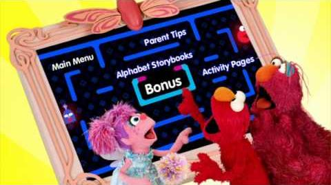 Elmo's Alphabet Challenge - Special Features Menu
