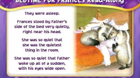 Bedtime for Frances Read Along (DVD)