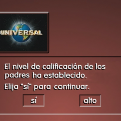 Spanish Parental Level Screen