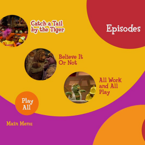 Episode Selection Menu