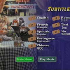 The Muppets Take Manhattan - Subtitles Screenshot