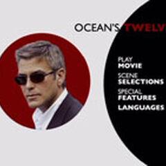 Ocean's Twelve Main Menu Screenshot