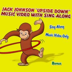 Upside Down music video options Menu