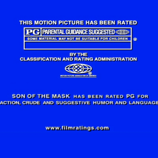 Rated PG screen