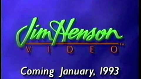 Jim Henson Video (1993) Coming January 1993
