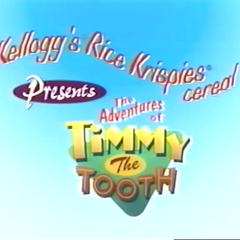 Timmy the Tooth after the Rice Krispies quiz