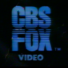 CBS FOX Video (1984) 16x9