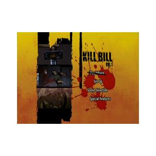 Kill Bill: Volume 1 - Main Menu Screenshot