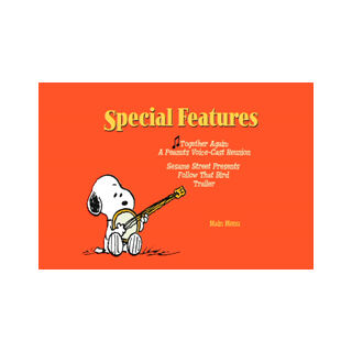 Snoopy's Reunion DVD - Special Features Screenshot