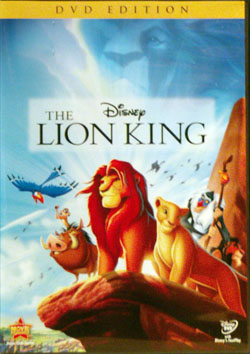 Lionking dvd