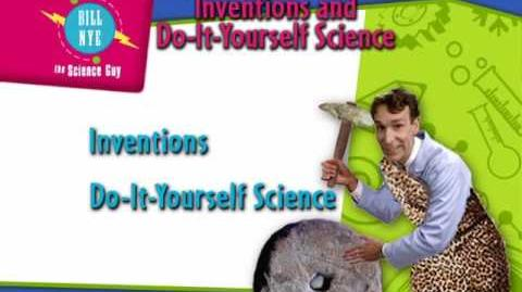 Bill Nye the Science Guy Inventions and Do-It-Yourself Science DVD Menu