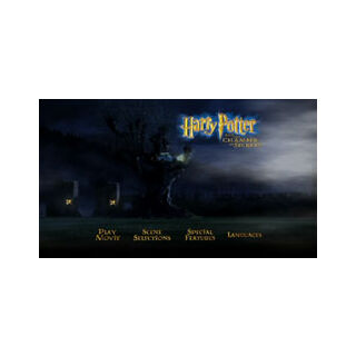 Harry Potter and the Chamber of Secrets - Main Menu Screenshot
