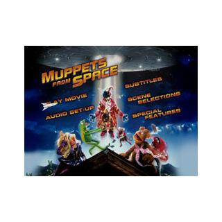 Muppets From Space - Main Menu Screenshot