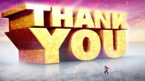 Blu-ray Thank You Bumper