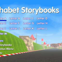 Alphabet Storybooks Menu #1