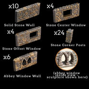 SWP-P - Store - Stone Wall and Post