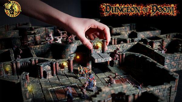 DungeonOfDoom-MainPage