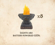 LB-P Lighted Braziers