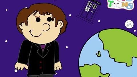 Who Toons Adventures of the 14th Doctor Trailer (2012) Doctor Who Cartoon