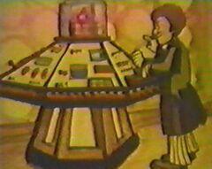 Cartoon console