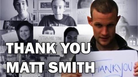 Thank You Matt Smith - Worldwide Collab