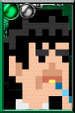 The Second Doctor + Pixelated Portrait