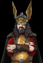 Odin closeup