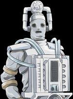 Mondas Cyberman (closeup)