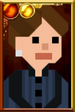 Clara Oswald + Pixelated Governess Portrait