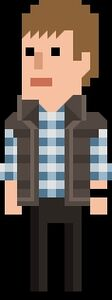 Rory Williams Pixelated Vest