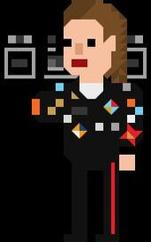 Dorothy Ace McShane Pixelated Radio