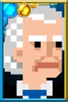 The First Doctor Pixelated Portrait