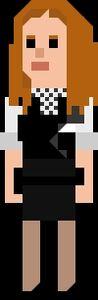 Amy Pond Pixelated Kissogram