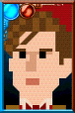 The Eleventh Doctor Pixelated Portrait