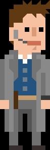 Jack Harkness Pixelated Coat