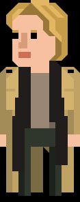 Kate Stewart Pixelated