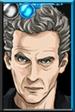 The Twelfth Doctor Tangerine Portrait