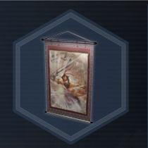 Yi ling wall scroll