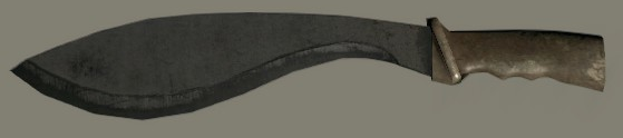 File:Brown Khukuri Knife.png