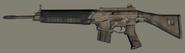 Camo Police Rifle 2