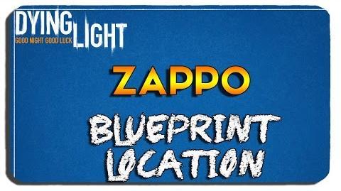 Dying Light- Zappo Blueprint Location