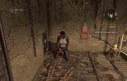 Aida at basement